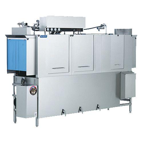 Jackson AJ-100CGP Conveyor Type Dish Machine with Gas Booster Heater
