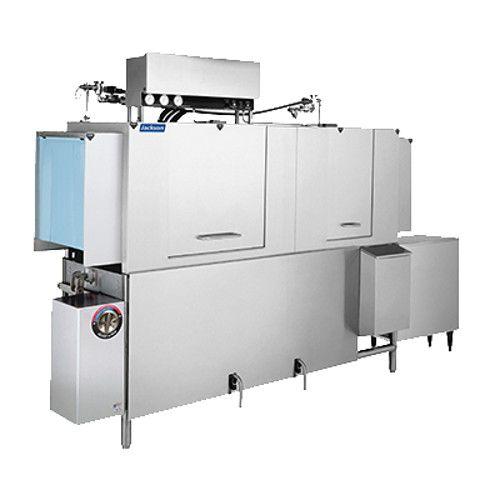 Jackson AJ-80CGP Conveyor Dish Machine with Gas Booster Heater