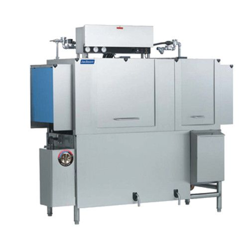 Jackson AJX-80CE High Temperature Conveyor Type Dish Machine with Electric Tank Heat