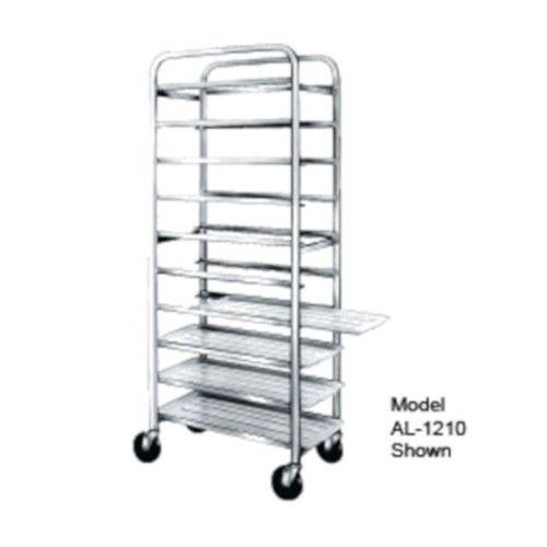 Winholt AL-1212 Full Height Mobile Platter Rack with Open Sides