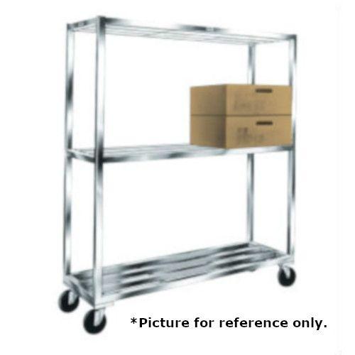 Winholt ALSTB-36-320-CM T-Bar Cooler & Backroom Shelving with 3 Shelves