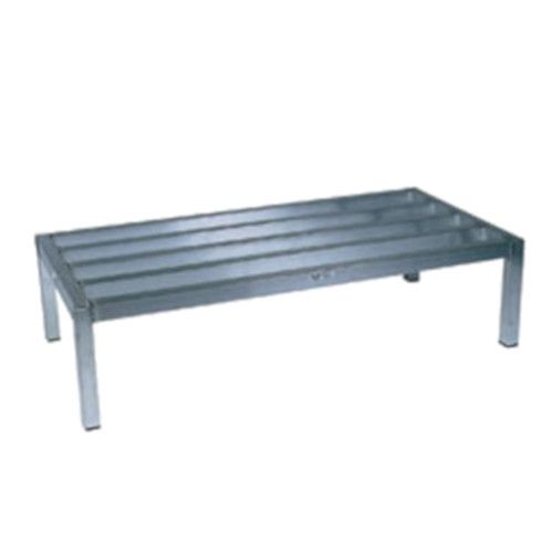 Winholt ALSQ-4-1224 One-Tier Vented Dunnage Rack - 2500 lb. Capacity