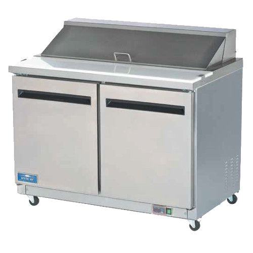 Arctic Air AMT48R 18 Pan Mega Top Sandwich Prep Table