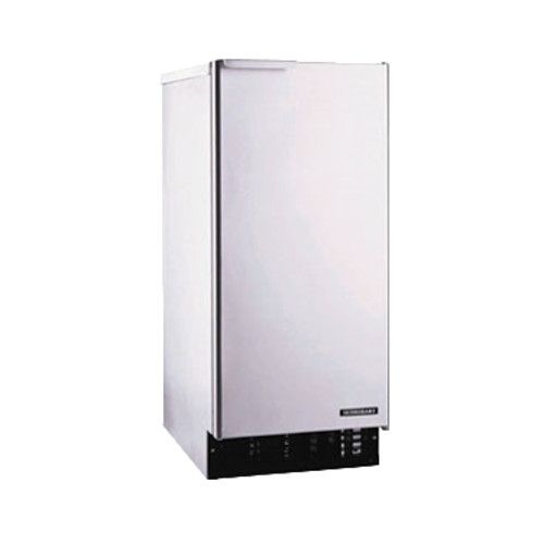 Hoshizaki AM-50BAE 55-lb Capacity Top-Hat Cube Style Air Cooled Ice Maker with Bin
