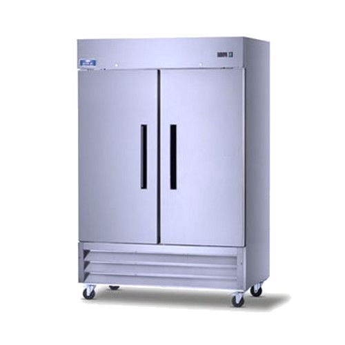 Arctic Air AR49 Two Section Reach-In Refrigerator