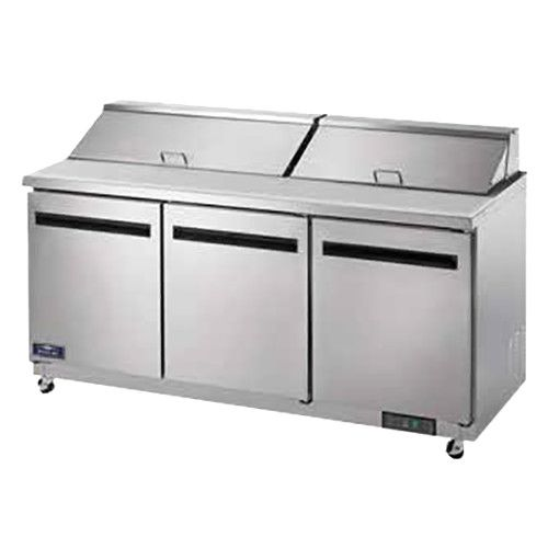 Arctic Air AST72R 18-Pan Sandwich / Salad Prep Table