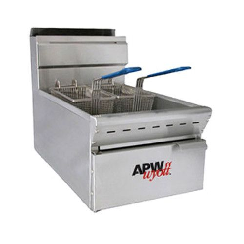 APW Wyott APW-F15C 15 lb. Gas Countertop Fryer