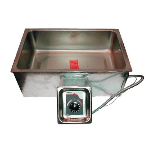 APW Wyott BM-80C UL Electric Built-In Hot Food Well Unit with Square Corners