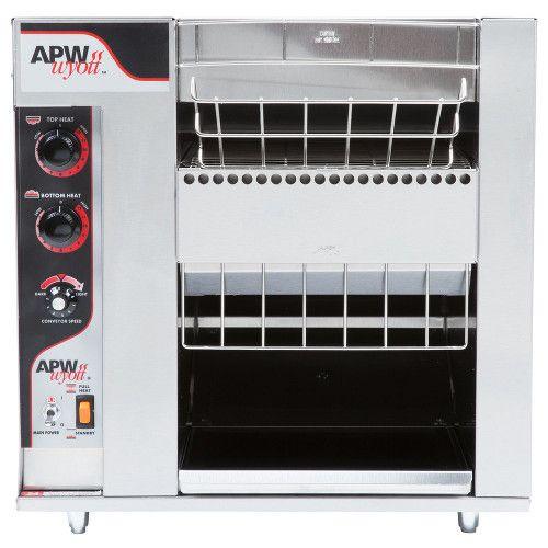 APW Wyott BT-15-2 Electric Countertop BagelMaster Conveyor Toaster