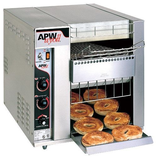 APW Wyott BT-15-3 Electric Countertop BagelMaster Conveyor Toaster