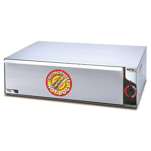 APW Wyott BW-50 Hot Dog Bun Warmer with 96 Bun Capacity