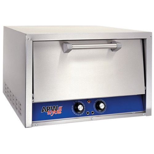 APW Wyott CDO-18 Electric Two Deck Countertop Pizza / Deck Oven