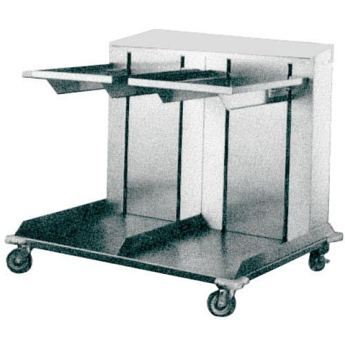 APW Wyott CTRD-1014 Double Mobile Lowerator Tray Dispenser