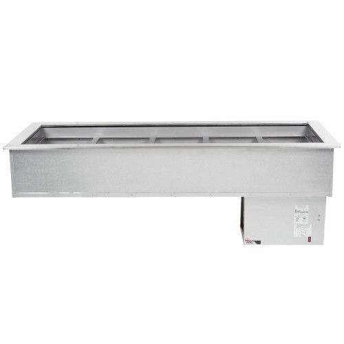 APW Wyott CW-5 Drop-In Refrigerated Cold Food Well Unit with 5 Pan Design
