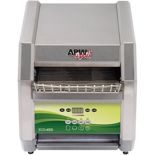 APW Wyott ECO 4000-500E Electric Countertop Conveyor Toaster- Electronic Control