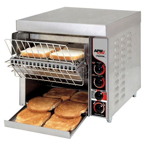 APW Wyott FT-1000 Countertop Fastrac Conveyor Toaster - 1000 Slices an Hour