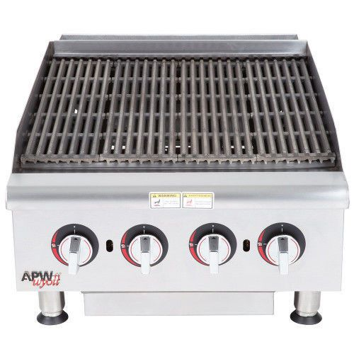 APW Wyott HCB-2424I Countertop Gas Cookline Radiant Charbroiler