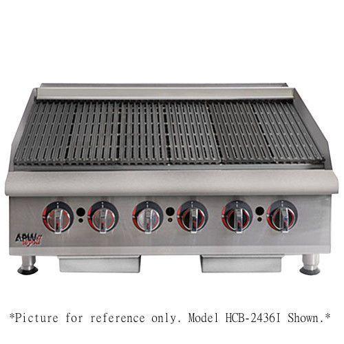 APW Wyott HCRB-2436 Heavy Duty Cookline Lava Rock 36