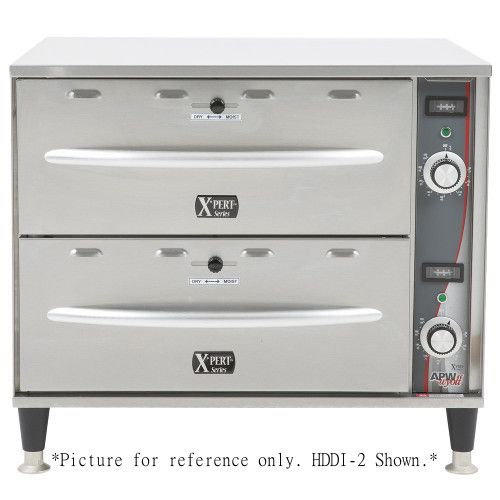 APW Wyott HDDI-3 Free Standing X*PERT Series Warming Drawer - 3 Drawers