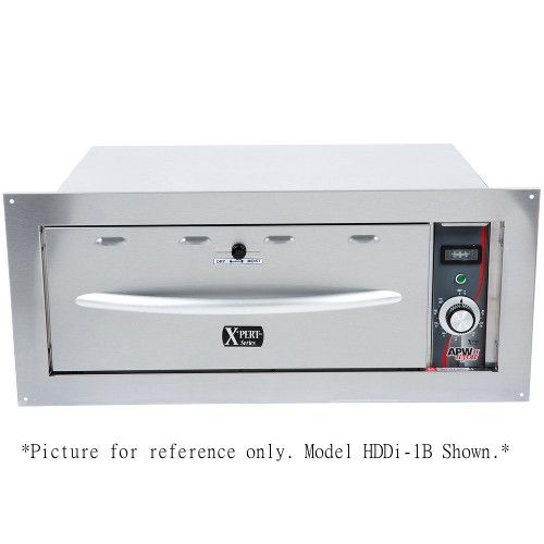 APW Wyott HDDI-3B Built-In X*PERT Series Warming Drawer - 3 Drawers