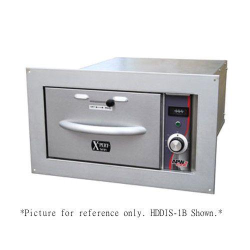 APW Wyott HDDIS-3B Built-In X*PERT Series Slim Line Warming Drawer - 3 Drawer