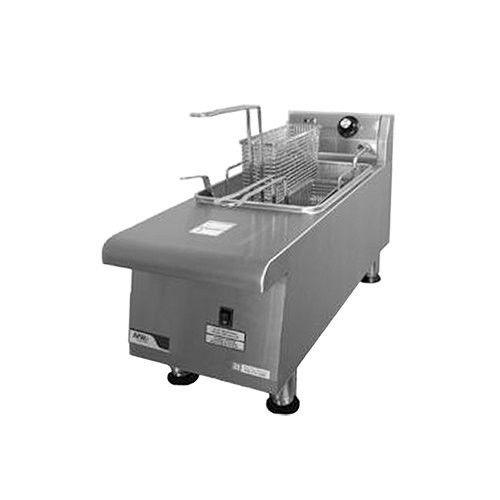 APW Wyott HEF-15SI Countertop Full Pot Electric Heavy Duty Fryer- 15 lb Capacity