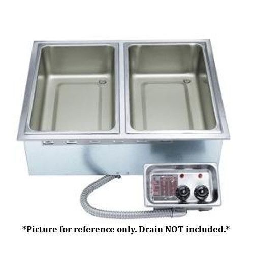 APW Wyott HFW-2 Electric Drop-In Hot Food Well Unit