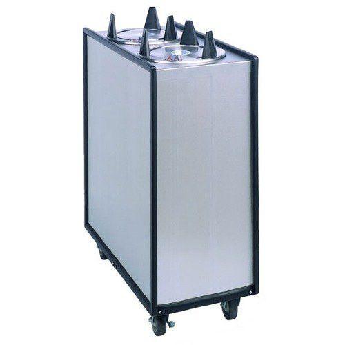 APW Wyott HML2-12 Mobile Lowerator Heated Dish Dispenser