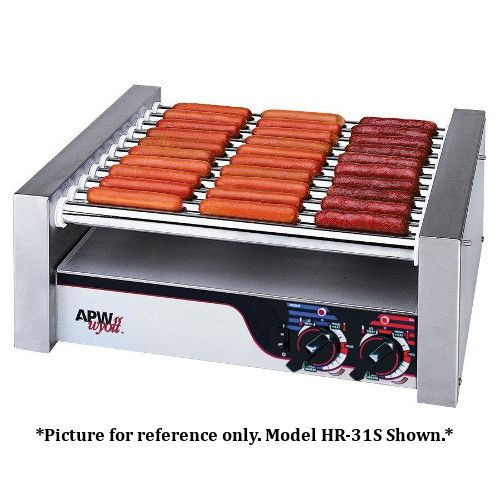 APW Wyott HRS-31 Non-Stick Hot Dog Roller Grill 19 1/2