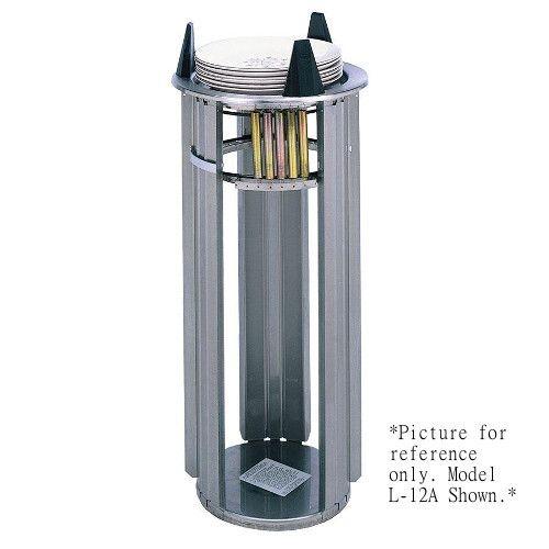 APW Wyott Lowerator L-10 Unheated Drop-In Dish Dispenser
