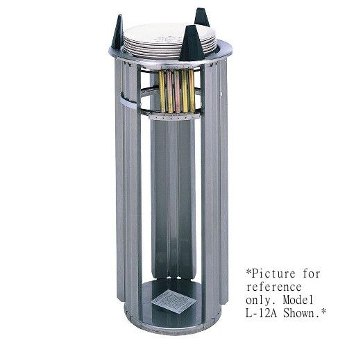 APW Wyott L-8 Drop-In Lowerator Dish Dispenser with Open Frame Design