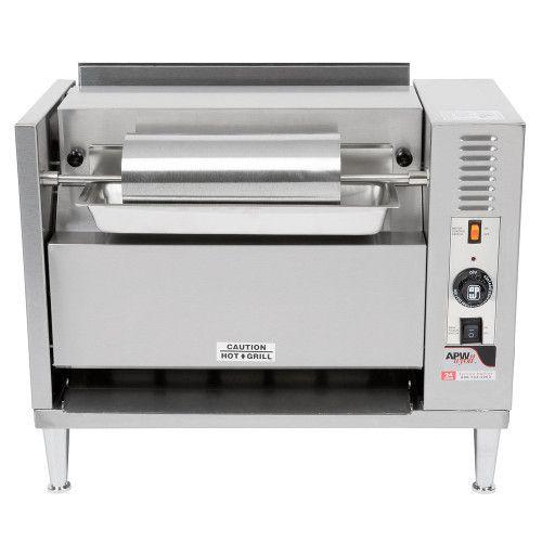 APW Wyott M-83 Electric Countertop Bun Grill Conveyor Toaster