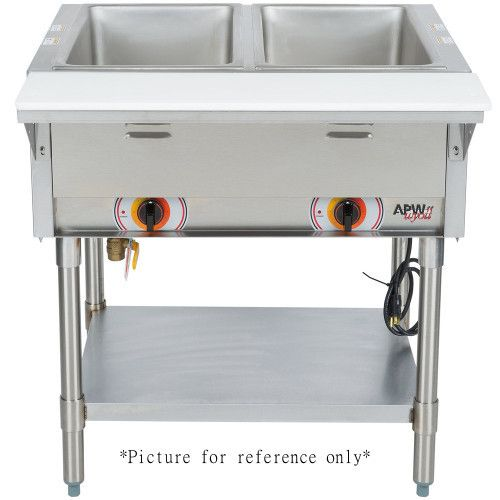 APW Wyott PST-2S Electric Portable Champion Hot Well Steam Table