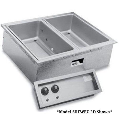 APW Wyott SHFWEZ-4D Electric Drop-In Hot Food Well