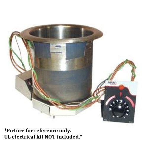 APW Wyott SM-50-11 Electric Drop-In Food Warmer - 11 Quart Capacity