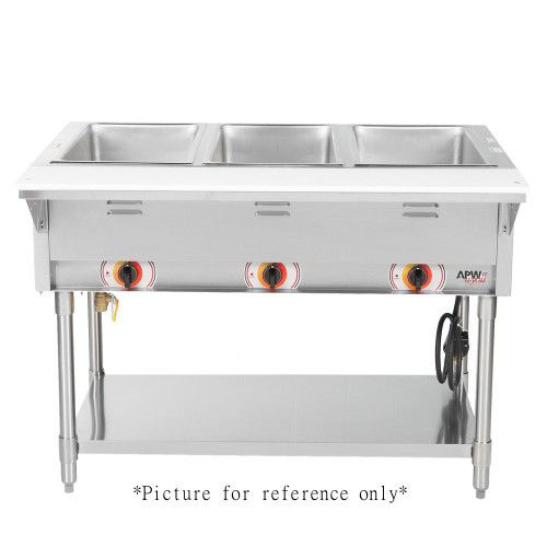 APW Wyott SST-4S Electric Stationary Sealed Champion Hot Well Steam Table