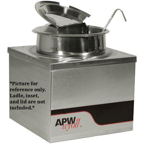 APW Wyott W-4B Electric Countertop Food Pan Warmer - 4 Qt. Capacity