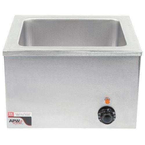 APW Wyott W-6 Electric Countertop Food Pan Warmer - 15 Quart Capacity