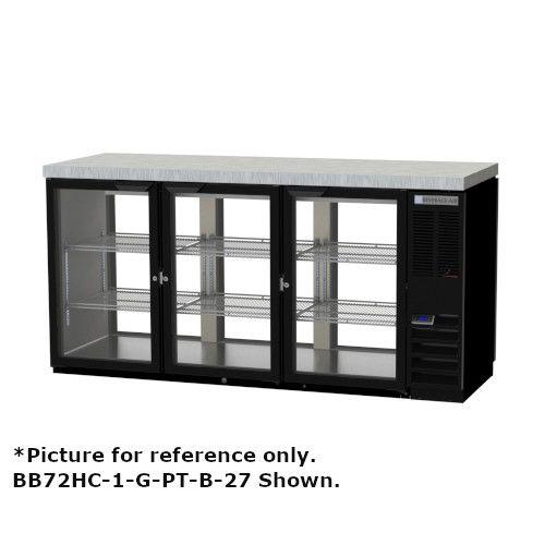 Beverage Air BB72HC-1-G-PT-S-27 Pass-Thru 72