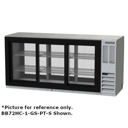 Beverage Air BB72HC-1-GS-PT-B Pass-Thru 72