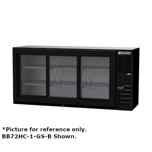 Beverage Air BB78HC-1-FG-S Three-Section 72