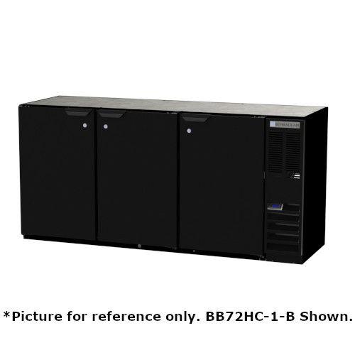 Beverage Air BB72HC-1-F-PT-B Pass-Thru 72