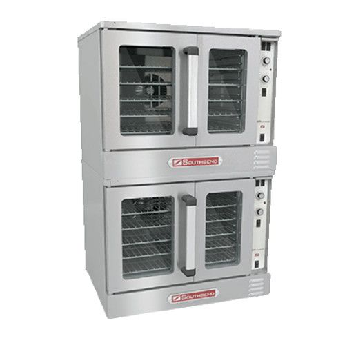 Southbend BES/27SC Electric Double Deck Bronze Convection Oven - 7.5 kW per Oven