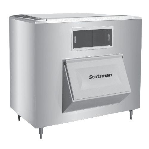 Scotsman BH1300SS-A Stainless Steel Upright Ice Storage Bin for Top Mounted Ice Machines - 1100 lb.