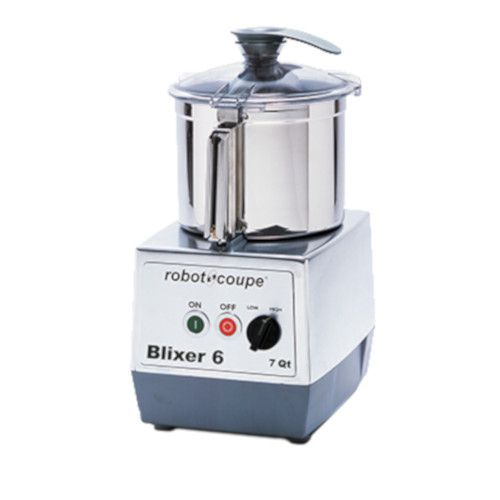 Robot Coupe BLIXER 6 Food Processor with 7 Qt Stainless Steel Bowl