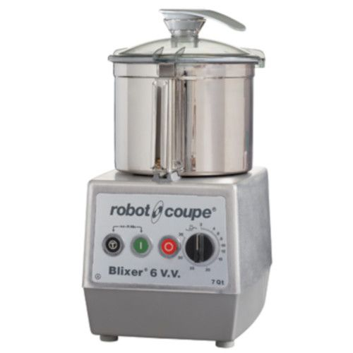 Robot Coupe BLIXER 6VV Variable Speed Food Processor with 7 Qt. Stainless Steel Bowl