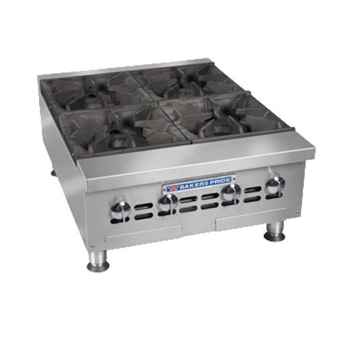 Bakers Pride BPHHP-424I Four Burner Heavy Duty 24