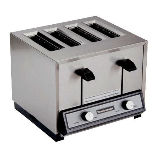 Toastmaster TP409 Pop-Up Four-Slice Bread Toaster - 120 Volts (Quick Ship)