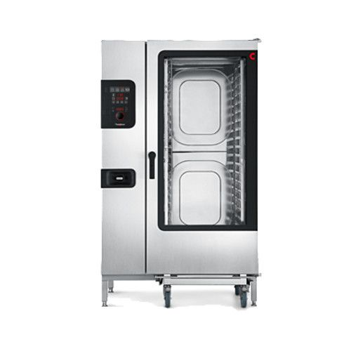 Convotherm C4 ED 20.20GB Full-Size Roll-In Gas Combi Oven with Easy Dial Controls