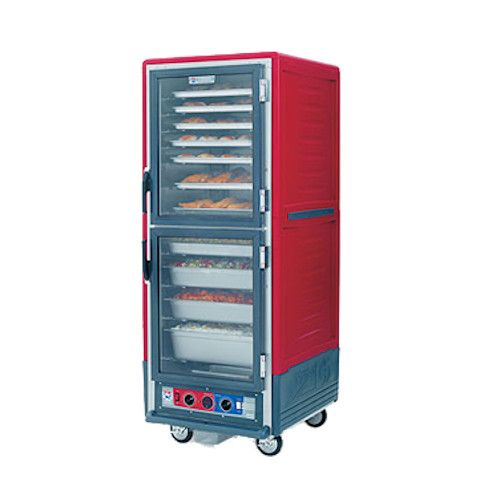 Metro C539-CDC-U C5 3 Series Heated Holding & Proofing Cabinet with Red Insulation Armour